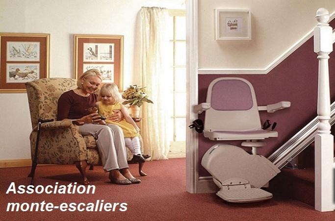 Association monte-escaliers 0 800 80 75 00 plateforme élévatrice ...